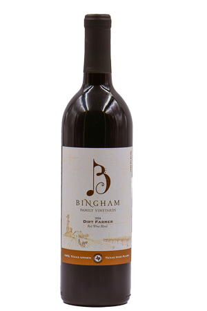 Bingham Dirt Farmer Red Blend 2014 w