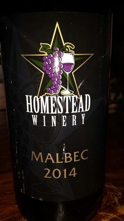 Homestead Malbec 2015 w
